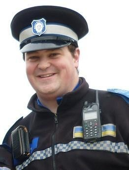 PCSO Simon Latham has hundreds of Twitter followers