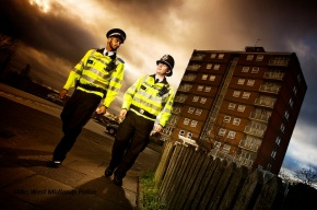 Could private companies go on patrol in the West Midlands?